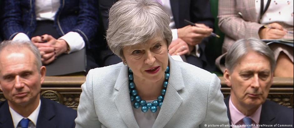 Theresa May (picture-alliance/dpa/empics/PA Wire/House of Commons)