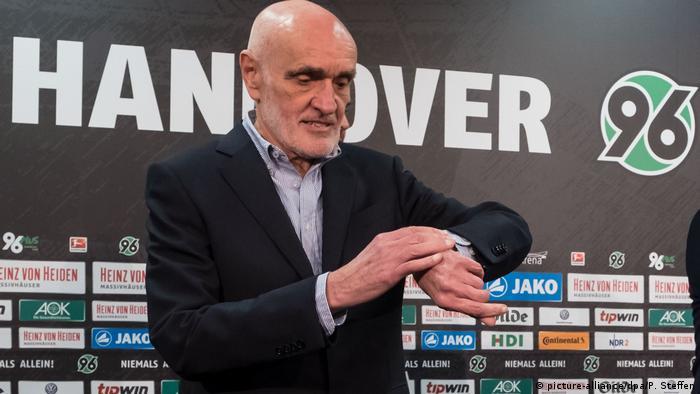 Fußball Martin Kind Präsident Hannover 96