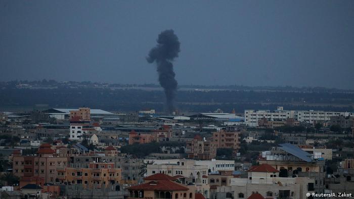 Misiles israelíes contra Gaza, en respuesta a ataque de milicias.