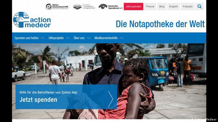 Spendenaufruf Mosambik Action Medeor (Action Medeor)