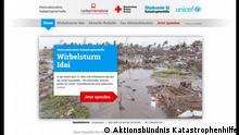 Spendenaufruf Mosambik Aktionsbündnis Katastrophenhilfe