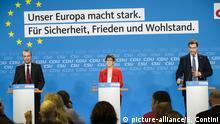 CDU/CSU-Treffen zum Europawahlprogramm