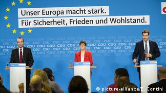 CDU/CSU-Treffen zum Europawahlprogramm (picture-alliance/E. Contini)