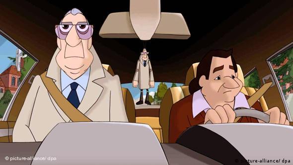 Популярные немецкие телесыщики Деррик и Харри тоже стали героями мультфильма