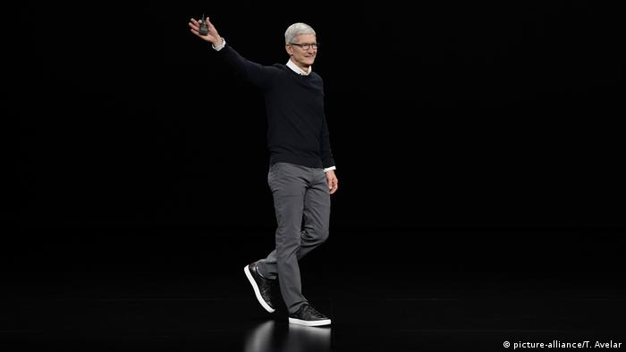 Apple CEO Tim Cook (picture-alliance/T. Avelar)