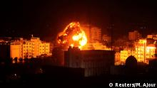 Gaza Stadt Luftangriff BdTD