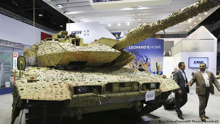 Німецький танк на експорт