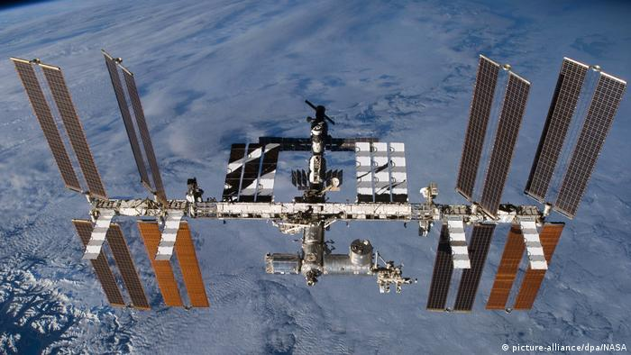 International space station (picture-alliance/dpa/NASA)