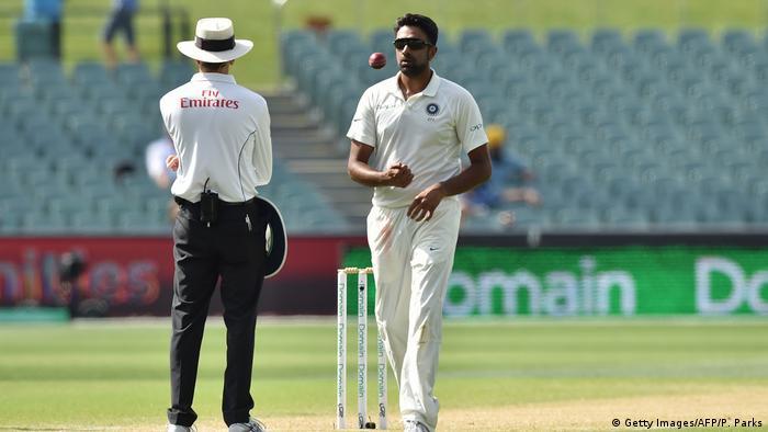 Indien Cricket Ravichandran Ashwin, Nationalmannschaft (Getty Images/AFP/P. Parks)