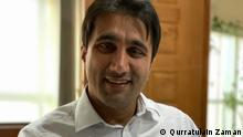 Asif Khan, DW Akademie representative in Pakistan (photo: Qurratulain Zaman)