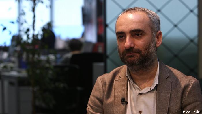 Ismail Saymaz, türkischer Journalist (DW/J. Hahn)