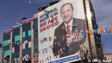 Wahlplakat von Präsident Recep Tayyip Erdogan