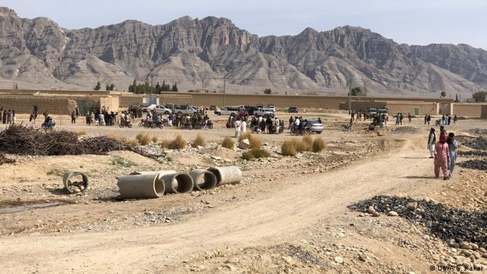 Pakistani military base in Loralei, near the border with Iran