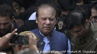 Pakistan Nawaz Sharif (picture-alliance/AP Photo/K.M. Chaudary)