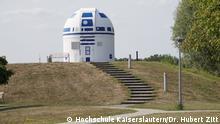 Deutschland R2D2 Sternwarte Kaiserslautern Copyright: Hochschule Kaiserslautern / Dr. Hubert Zitt
