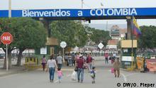 Kolumbien venezolanische Flüchtlinge in der Grenzstadt Cucuta