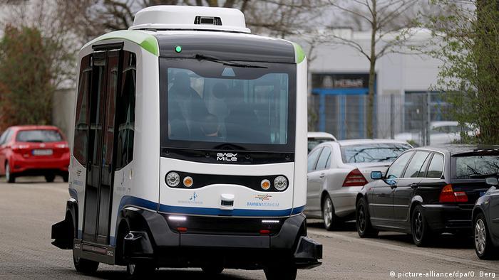 Linienbetrieb autonom fahrender Busse in Monheim