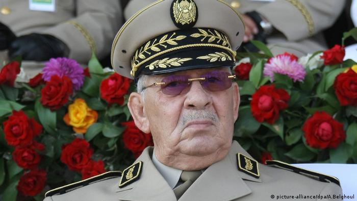 Algeria's General Gaid Salah (picture-alliance/dpa/A.Belghoul)