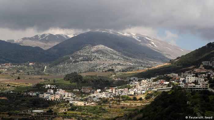 Syrien Israel Golanhöhen (Reuters/A. Awad)
