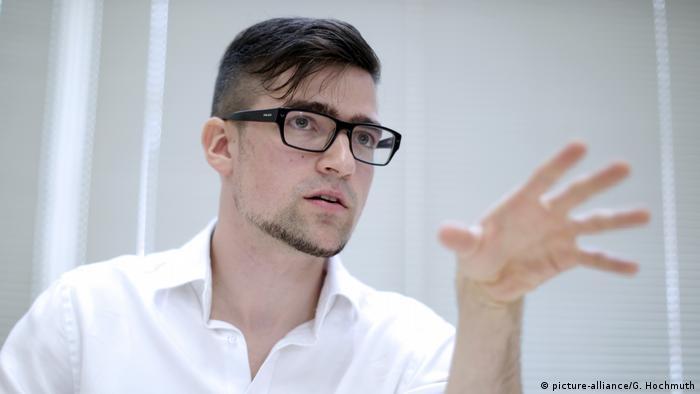 Austrian Identitarian leader Martin Sellner