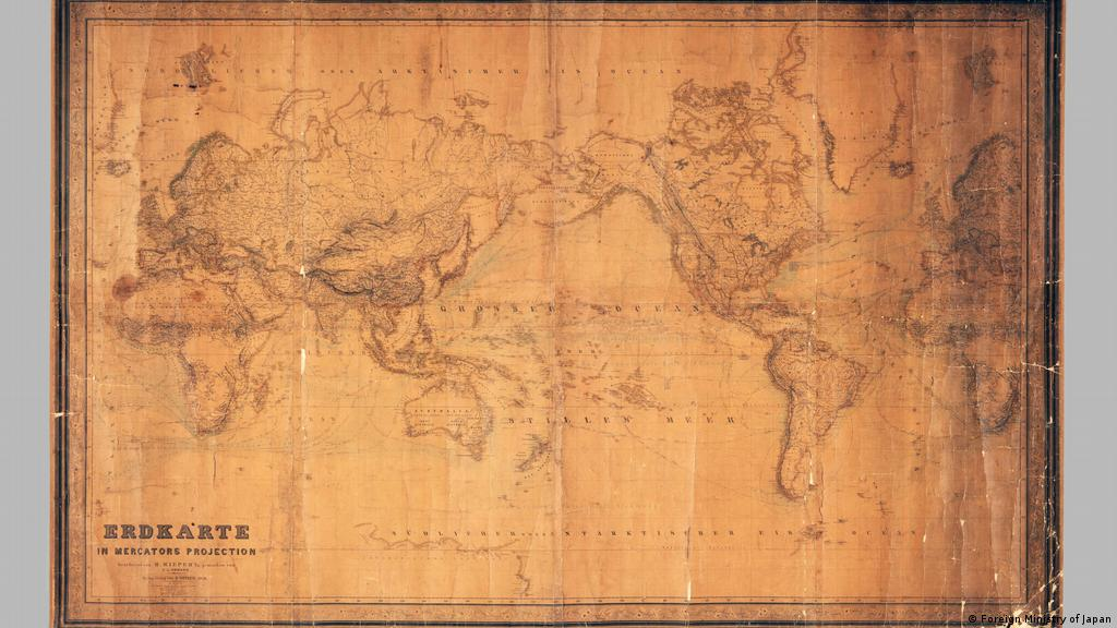 Picture of: How Japan Is Using An Old German Map To Irk South Korea Asia An In Depth Look At News From Across The Continent Dw 27 03 2019