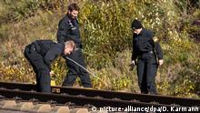 Deutschland 2018 Stahlseil-Angriff auf ICE Nürnberg - München | Suche Polizei