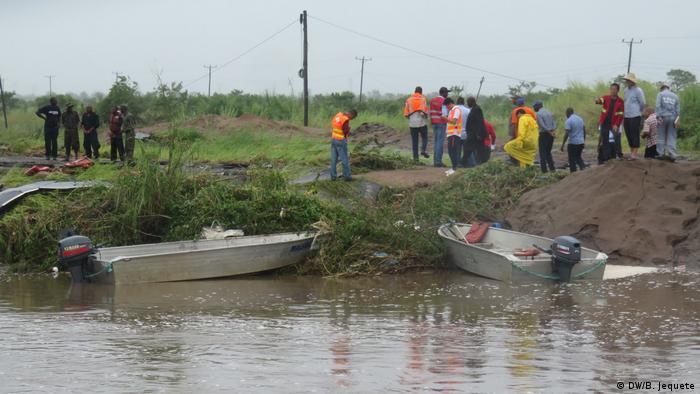 Mosambik Folgen des Zyklons Idai in der Provinz Manica (DW/B. Jequete)