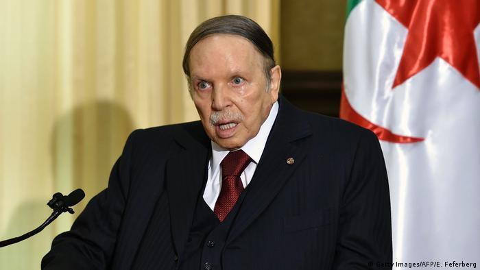 Algerien 2016 Abdelaziz Bouteflika, Präsident