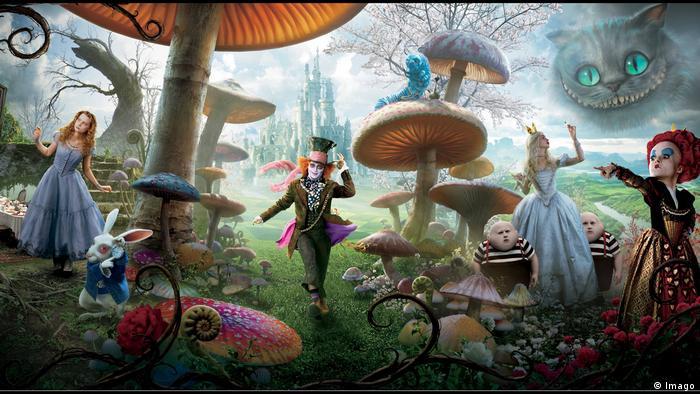 Neuverfilmung von Alice im Wunderland aus dem Jahr 2010 (Imago)