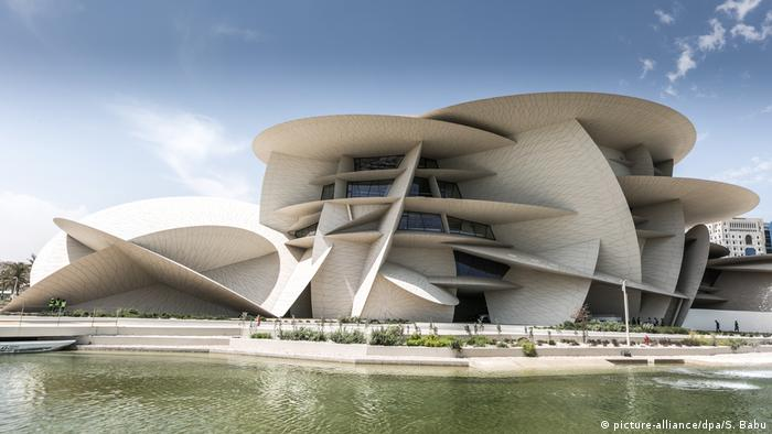 Katar Eröffnung des Nationalmuseums in Doha (picture-alliance/dpa/S. Babu)