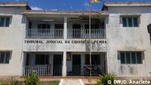 Mosambik Prozess gegen Journalistin in Pemba, Cabo Delgado