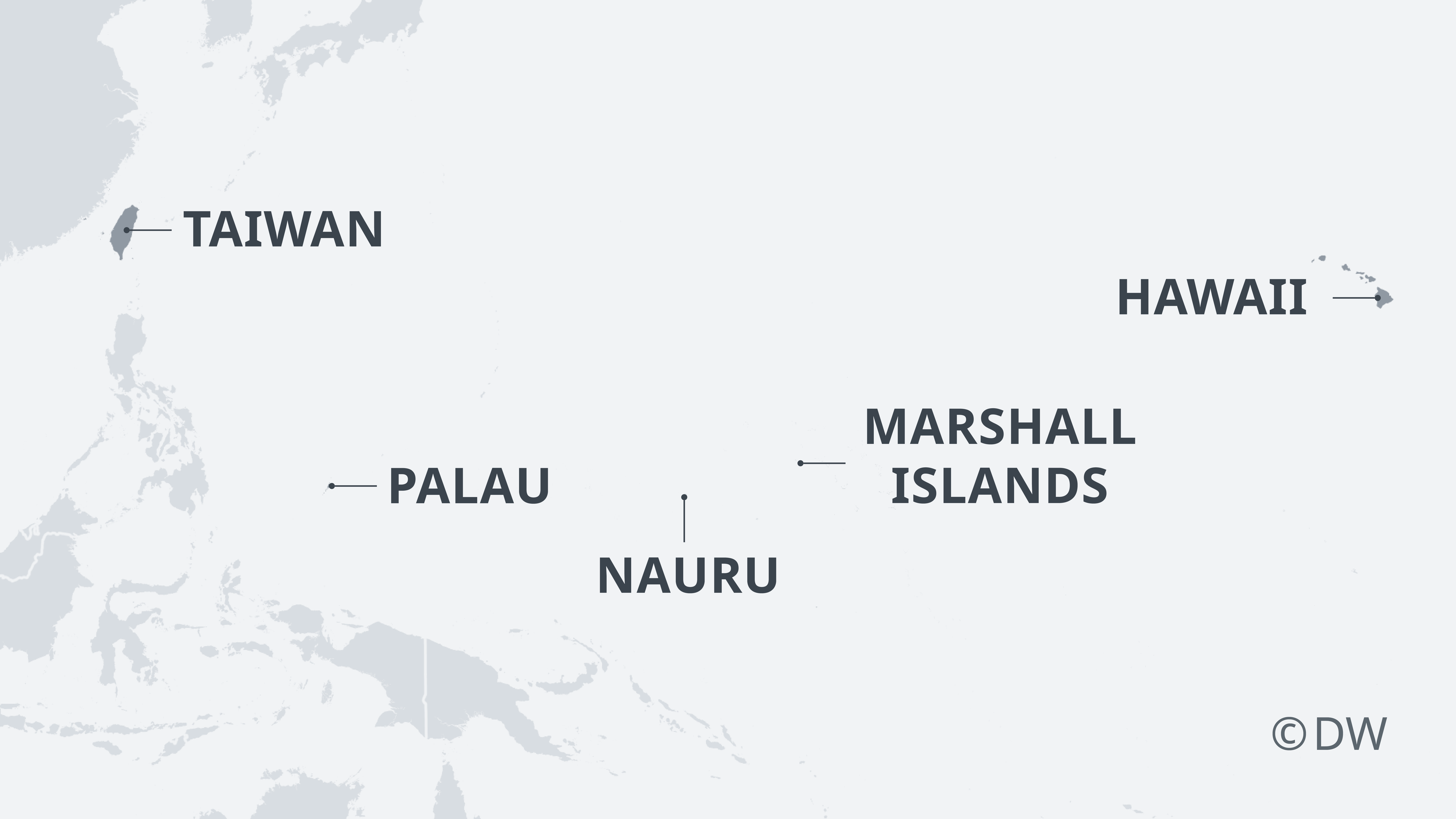 Islands in the Pacific