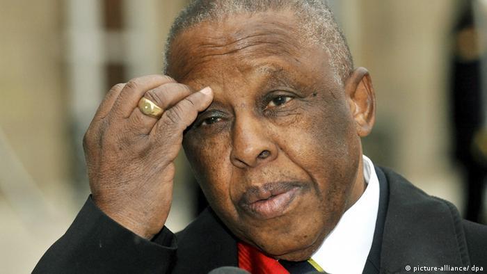 The former President of Botswana, Festus Mogae (picture alliance / dpa)
