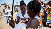 Mosambik, Beira - Ärzte ohne Grenzen helfen bezügl. Zyklon Idai
