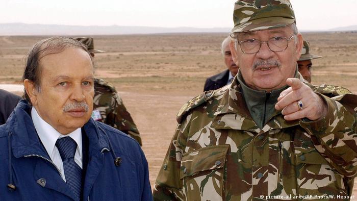 Algerien Abdelaziz Bouteflika und Ahmed Gaid Salah