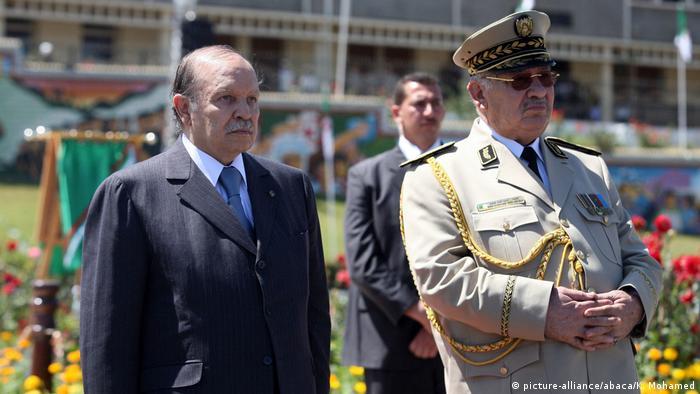Abdelaziz Bouteflika und Ahmed Gaid Salah