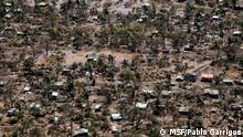 ***ACHTUNG: Bild nur zur abgesprochenen Berichterstattung verwenden!*** Aerial view of Buzi and the devastation caused by Cylone Idai.