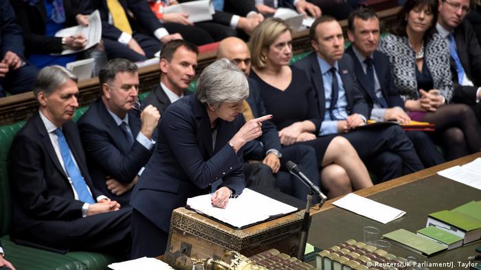England, London: Debatte im House of Commons