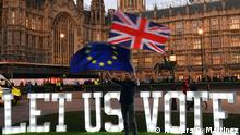 UK, London: Protest Brexit