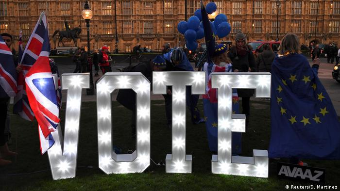 UK, London: Protest Brexit