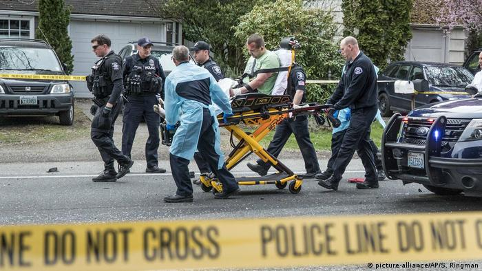 USA, Seattle: Verletzte nach Schießerei (picture-alliance/AP/S. Ringman)