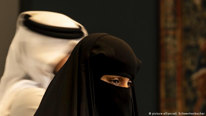Symbolbild: Frauen in Saudi Arabien (picture-alliance/J. Schwenkenbecher)
