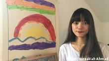 Köln Au Pair-Mädchen Herwina aus Indonesien (DW/Nurzakiah Ahmad)