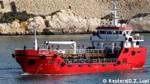 28.03.2019 +++ The merchant ship Elhiblu 1 arrives in Senglea in Valletta's Grand Harbour, Malta, March 28, 2019. REUTERS/Darrin Zammit Lupi