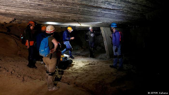 Israel Malham-Salzhöhle (AFP/M. Kahana)