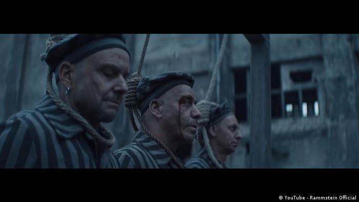 Screenshot of the trailer for the Rammstein video of 'Deutschland' (YouTube - Rammstein Official)