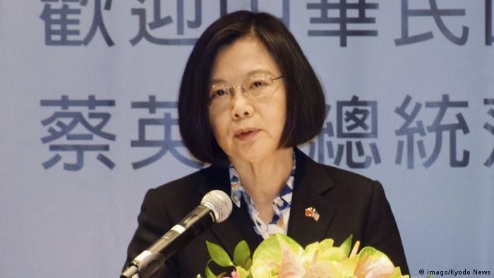 Taiwan Präsidentin Tsai Ing Wen auf Hawaii