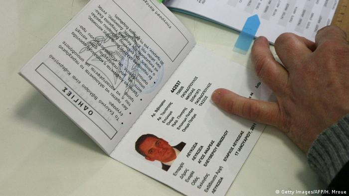 Zypern Reisepass (Getty Images/AFP/H. Mroue)