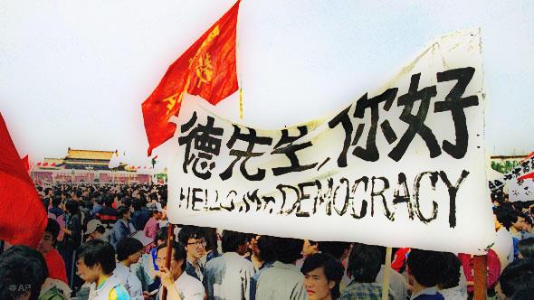 Schicksalsjahr Mauer 89 China