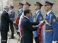 Predsednik Rusije Dmitrij Medvedev u Beogradu 20.10.